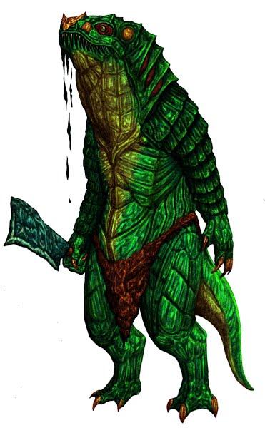 Lizardfolk – d20PFSRD