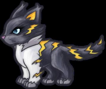 Lightning Cat Companion (3pp) – d20PFSRD